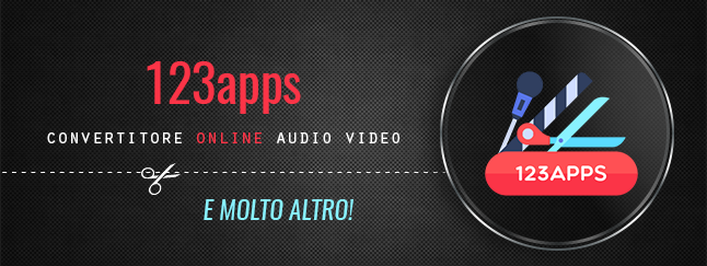 123apps: un convertitore online audio video e molto altro!